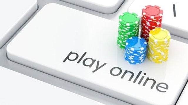 casinos chips on the computer