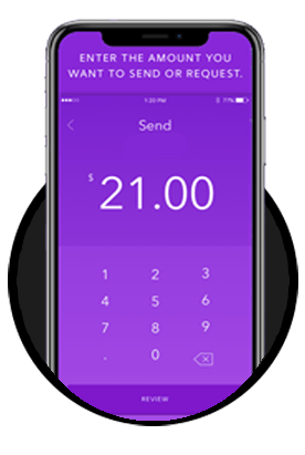Zelle mobile icon